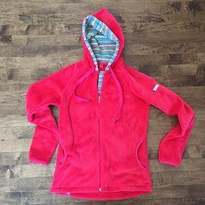 Roxy Sherpa fleece full zip hoodie